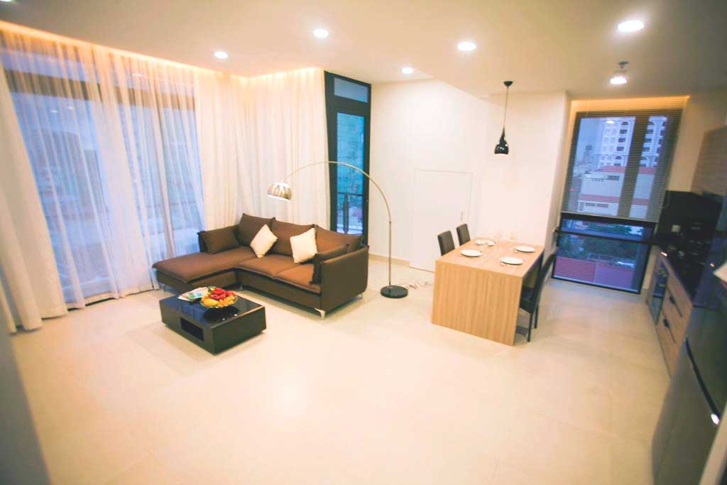 2 bedroom luxury condominium fully furnished (Type A1)