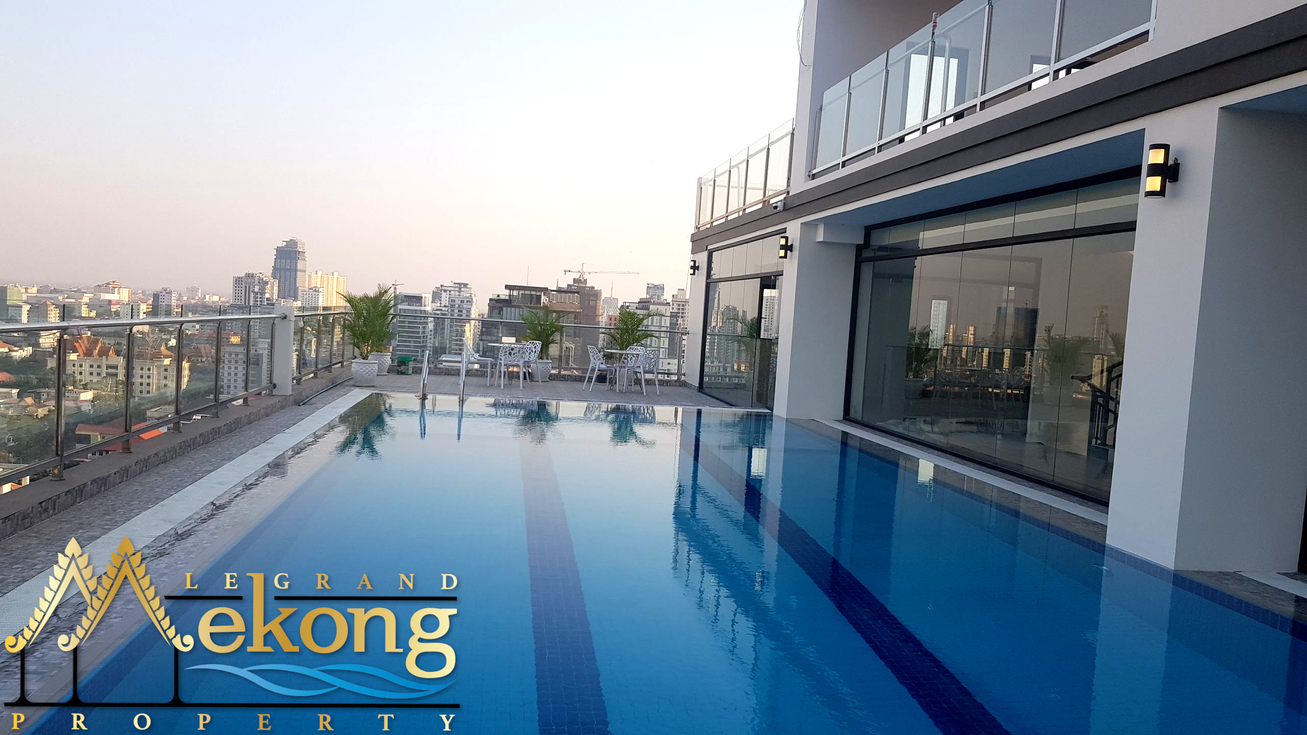 2 bedroom 2 bathroom for rent in Daun Penh | LGM410