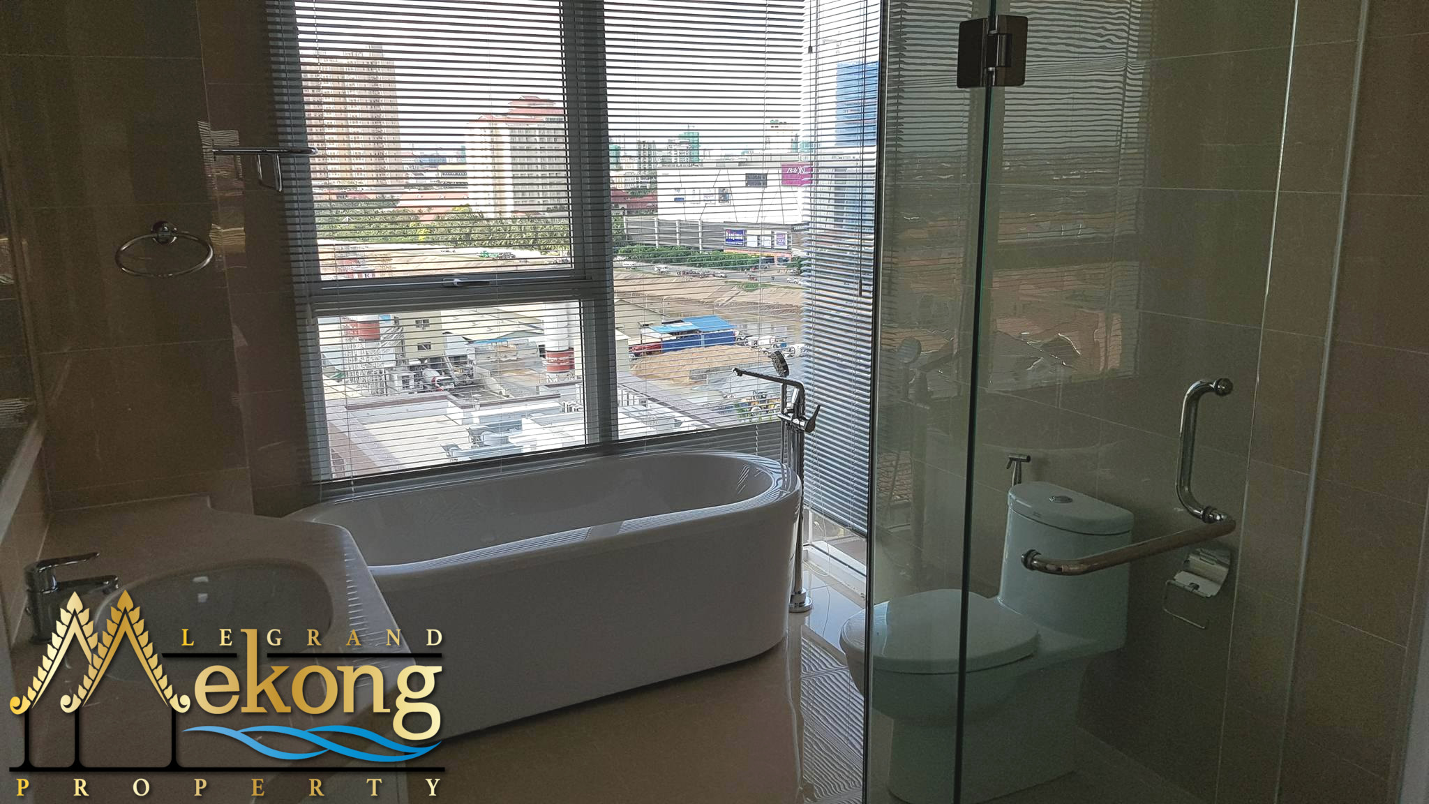 2 Bedroom 2 Bathroom for rent on (Koh Pich | LGM296