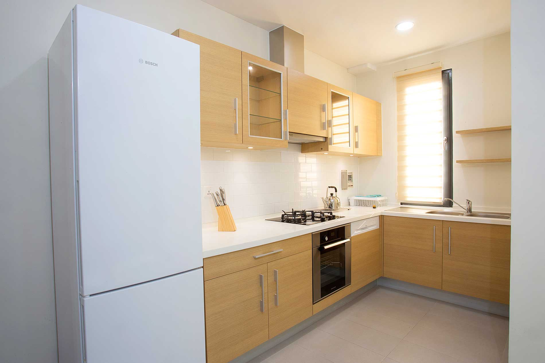 Modern fully furnished 3 bedroom apartment with Mekong view