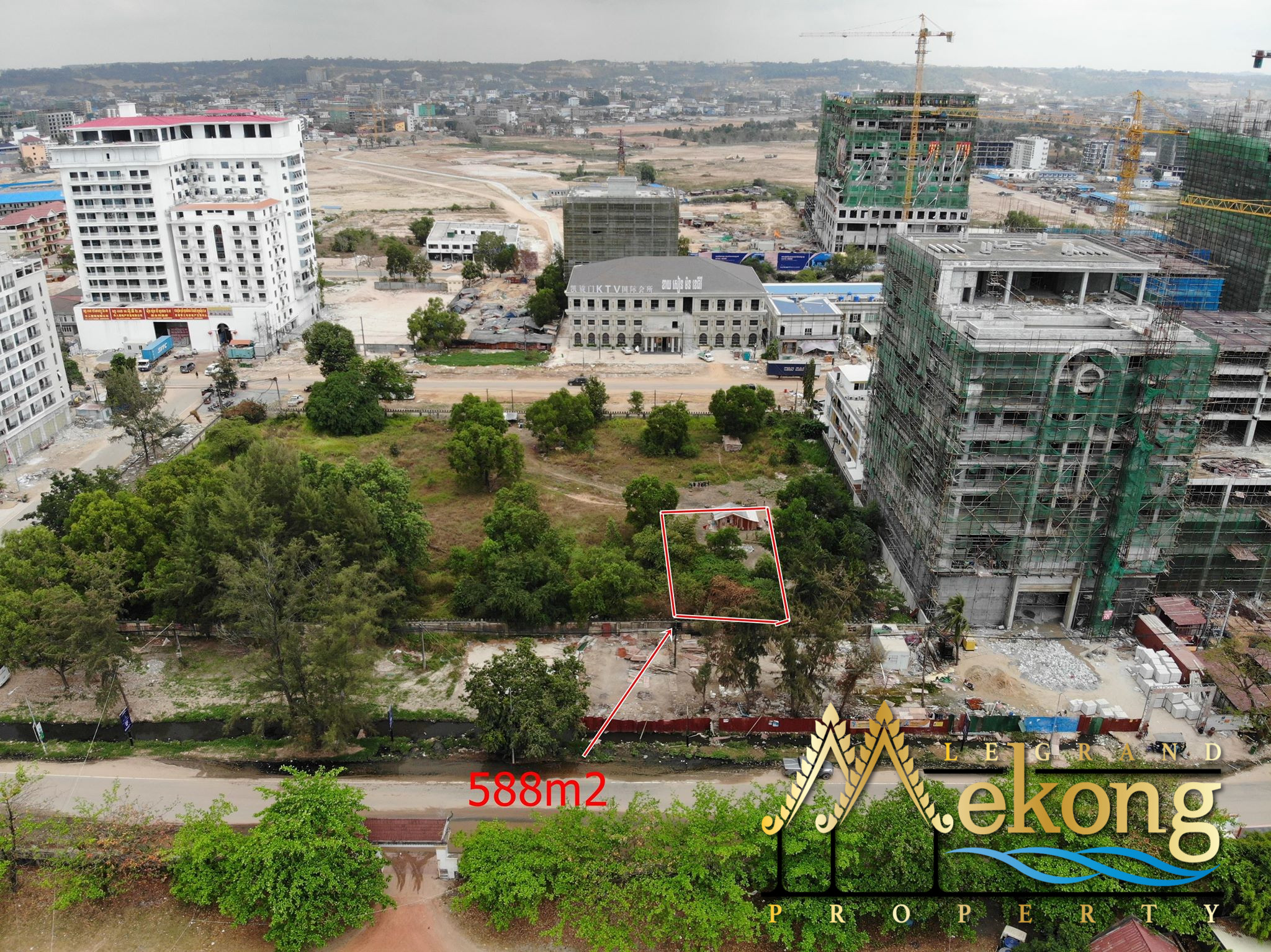 588m2 Land for rent in (Sihanoukville | LGM356