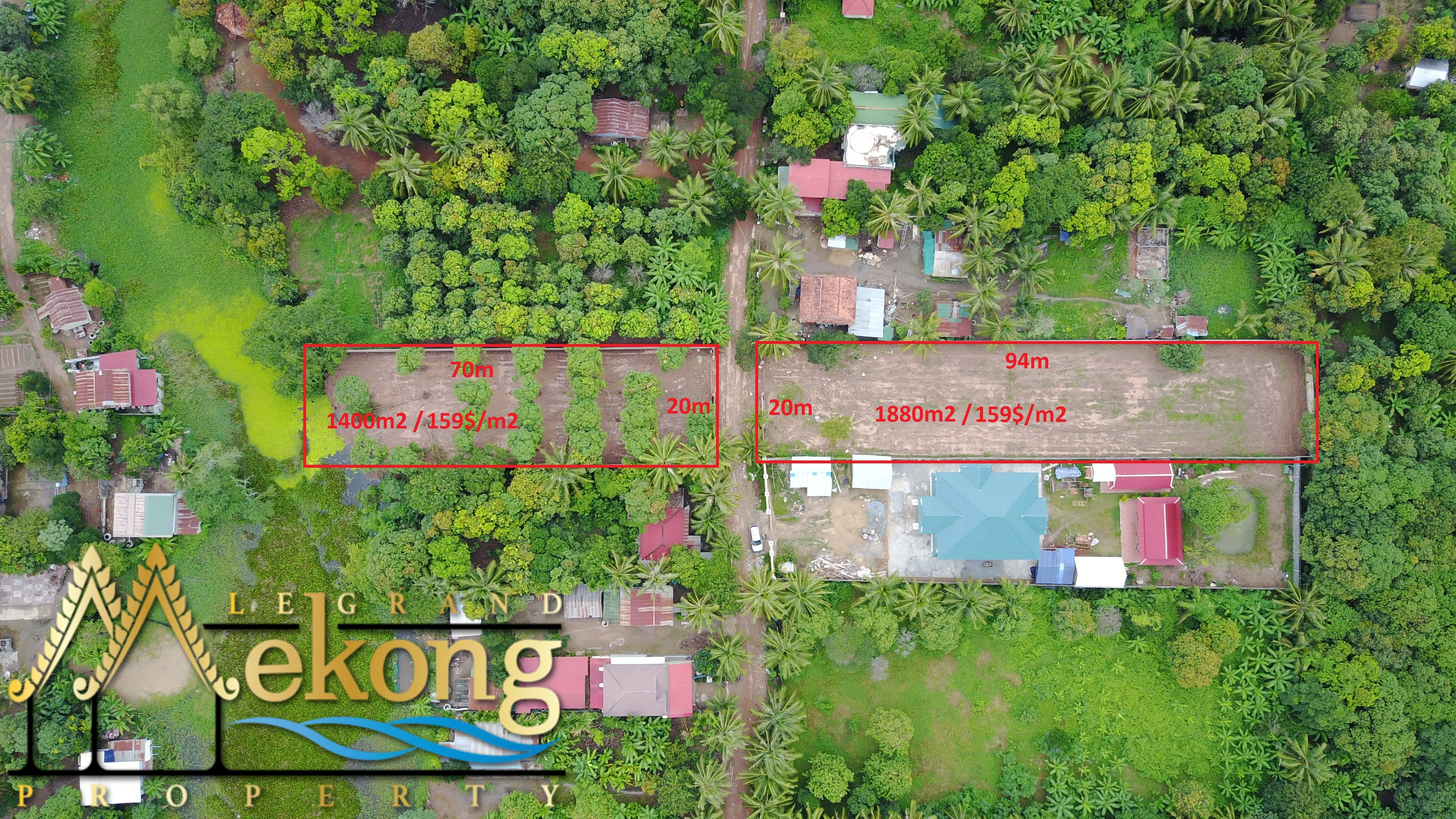3280m2 Land Lots For Sale on National Road 1 | LGM273