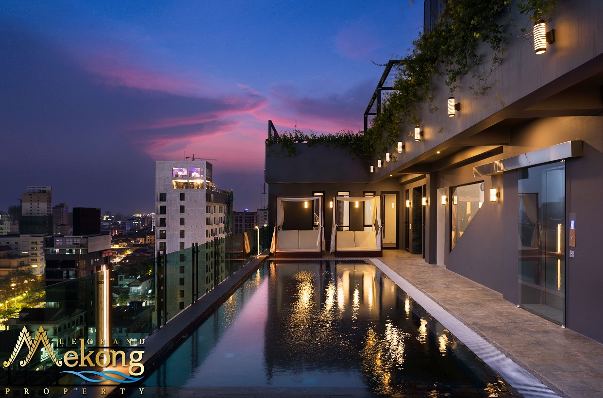 2 bedrooms unit heart of Phnom Penh brand new building | LGM276